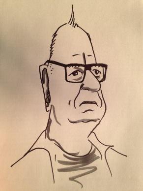 "When this fellow saw what I had drawn, he remarked, ""Oh, that's tough."""